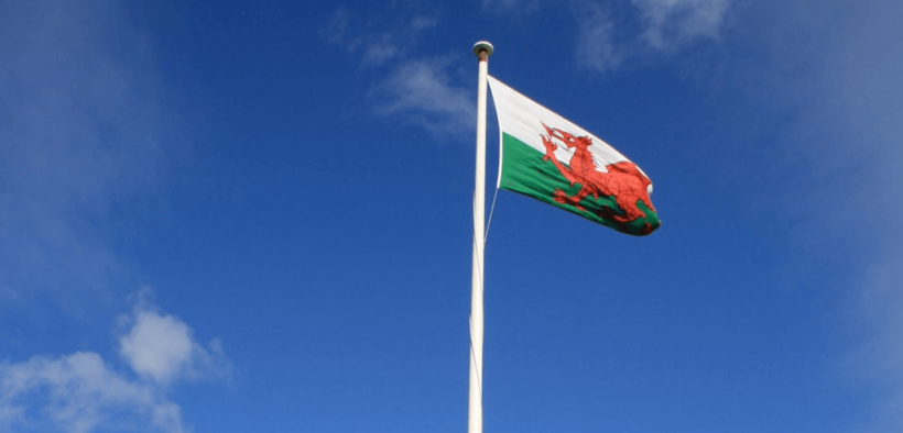 St Davids Day: Welsh Flag