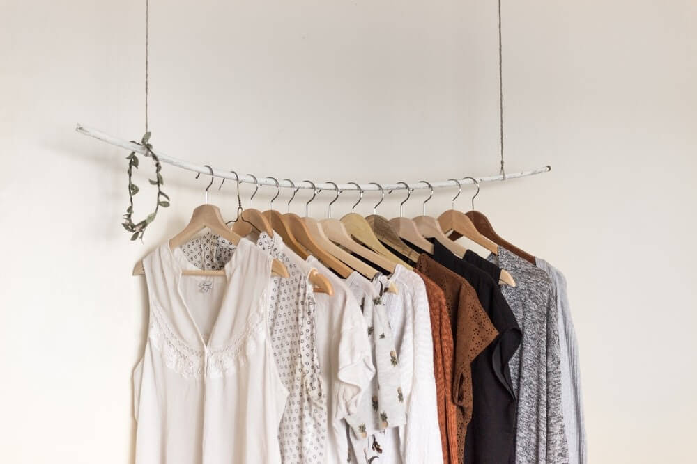 Space Saving Ideas - Storing Clothes