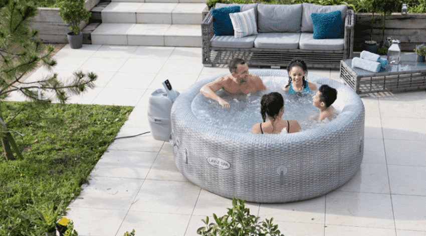 A picture containing outdoor, ground, vessel, bathtub  Description automatically generated